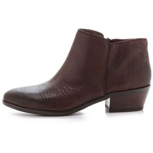 sam edelman brown petty ankle bootie size 8
